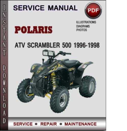 Polaris Atv Scrambler 500 1996