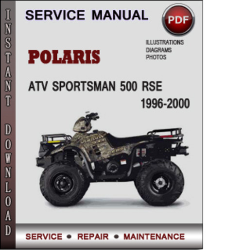 Polaris Atv Sportsman 500 Rse 1996