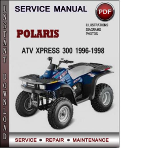 polaris 300 express wiring diagram 1998 service manual polaris atv xplorer 500 1996 1997 1998 1999 ... #5
