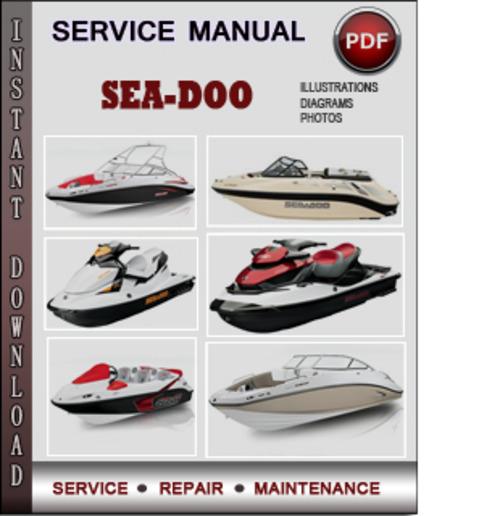Sea-doo 4-tec 2008 2009 Factory Service Repair Manual Download Pdf