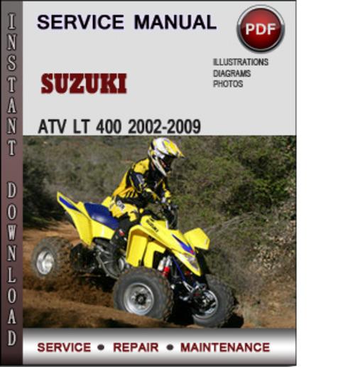 Suzuki Atv Lt 400 2002