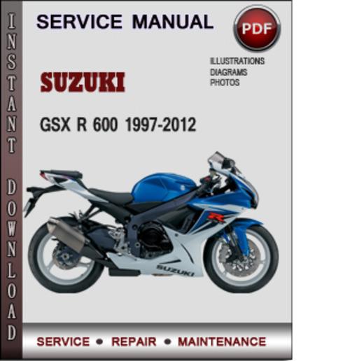 Suzuki Gsx R 600 1997