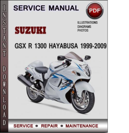 Suzuki Gsxr Hayabusa Service Manual Pdf