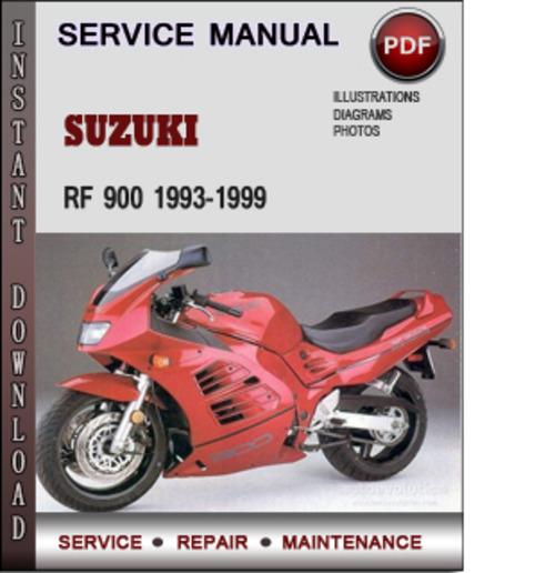 Pay for Suzuki RF 900 1993-1999 Factory Service Repair Manual Download Pdf