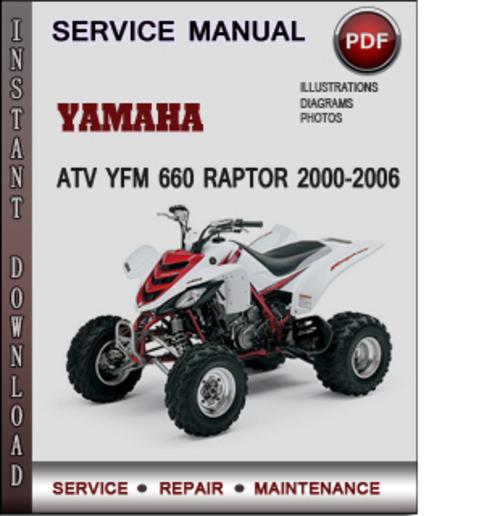 Yamaha Atv Yfm 660 Raptor 2000