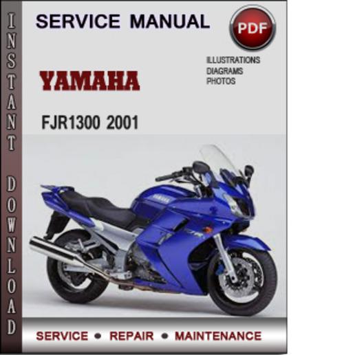 yamaha fjr1300 2001 factory service repair manual download. Black Bedroom Furniture Sets. Home Design Ideas