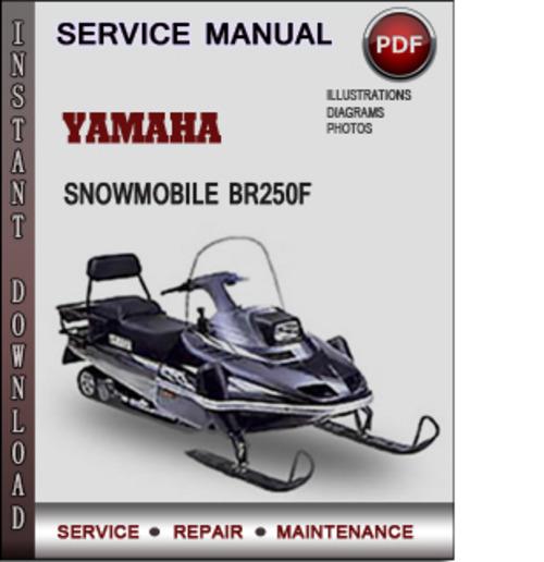 yamaha snowmobile br250f factory service repair manual. Black Bedroom Furniture Sets. Home Design Ideas