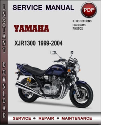 yamaha xjr1300 1999 2004 factory service repair manual. Black Bedroom Furniture Sets. Home Design Ideas
