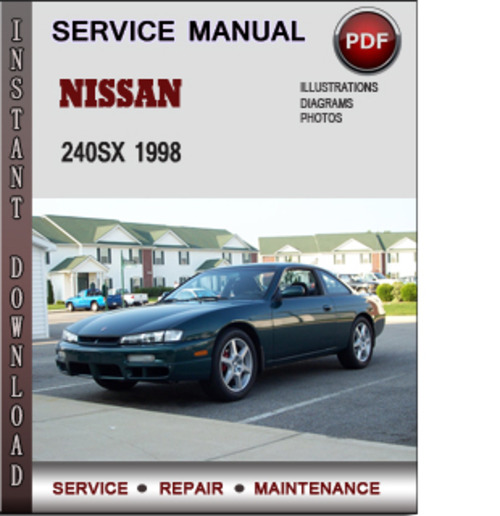 1998 nissan 200sx and maintenance manual free pdf nissan. Black Bedroom Furniture Sets. Home Design Ideas