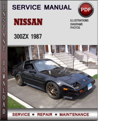 motor auto repair manual 1996 nissan 300zx parking system. Black Bedroom Furniture Sets. Home Design Ideas
