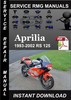 Thumbnail 1993-2002 Aprilia RS 125 Service Repair Manual Download