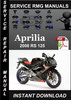 Thumbnail 2006 Aprilia RS 125 Service Repair Manual Download