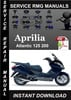 Thumbnail Aprilia Atlantic 125 200 Service Repair Manual Download