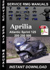 Thumbnail Aprilia Atlantic Sprint 125 200 250 500 Service Repair Manua
