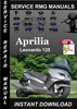 Thumbnail Aprilia Leonardo 125 Service Repair Manual Download