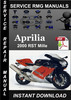 Thumbnail 2000 Aprilia RST Mille Service Repair Manual Download