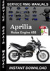 Thumbnail Aprilia Rotax Engine 655 Service Repair Manual