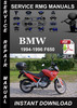 Thumbnail 1994 1995 1996 BMW F650 Service Repair Manual Download