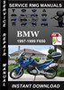 Thumbnail 1997 1998 1999 BMW F650 Service Repair Manual Download