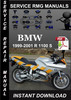 Thumbnail 1999 2000 2001 BMW R 1100 S Service Repair Manual Download