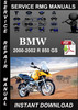 Thumbnail 2000 2001 2002 BMW R 850 GS Service Repair Manual