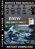 Thumbnail 2002 2003 2004 BMW K 1200 LT Service Repair Manual Download