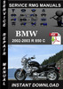 Thumbnail 2002 2003 BMW R 850 C Service Repair Manual Download