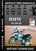 Thumbnail BMW R1150 GS Service Repair Manual Download
