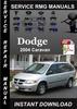 Thumbnail 2004 Dodge Caravan Service Repair Manual Download