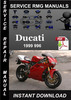 Thumbnail 1999 Ducati 996 Service Repair Manual Download