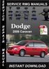 Thumbnail 2006 Dodge Caravan Service Repair Manual Download