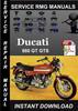 Thumbnail Ducati 860 GT GTS Service Repair Manual Download