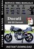 Thumbnail Ducati 900 SD Darmah Service Repair Manual Download