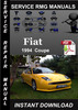 Thumbnail 1994 Fiat Coupe Service Repair Manual Download