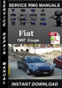 Thumbnail 1997 Fiat Coupe Service Repair Manual Download