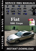 Thumbnail 1998 Fiat Coupe Service Repair Manual Download