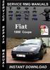 Thumbnail 1999 Fiat Coupe Service Repair Manual Download