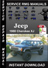 Thumbnail 1988 Jeep Cherokee XJ Service Repair Manual Download