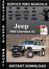 Thumbnail 1993 Jeep Cherokee XJ Service Repair Manual Download