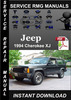 Thumbnail 1994 Jeep Cherokee XJ Service Repair Manual Download
