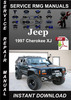 Thumbnail 1997 Jeep Cherokee XJ Service Repair Manual Download