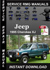 Thumbnail 1995 Jeep Cherokee XJ Service Repair Manual Download