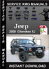 Thumbnail 2000 Jeep Cherokee XJ Service Repair Manual Download