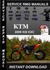 Thumbnail 2009 KTM 530 EXC Service Repair Manual Download