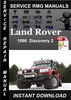 Thumbnail 1996 Land Rover Discovery 2 Service Manual Download