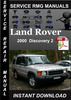 Thumbnail 2000 Land Rover Discovery 2 Service Manual Download