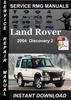 Thumbnail 2004 Land Rover Discoacvery 2 Service Manual Download