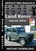 Thumbnail Land Rover Defender 300Tdi Service Repair Manual Download