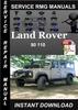 Thumbnail Land Rover 90 110 Service Repair Manual Download
