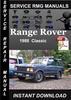 Thumbnail 1988 Range Rover Classic Service Repair Manual Download